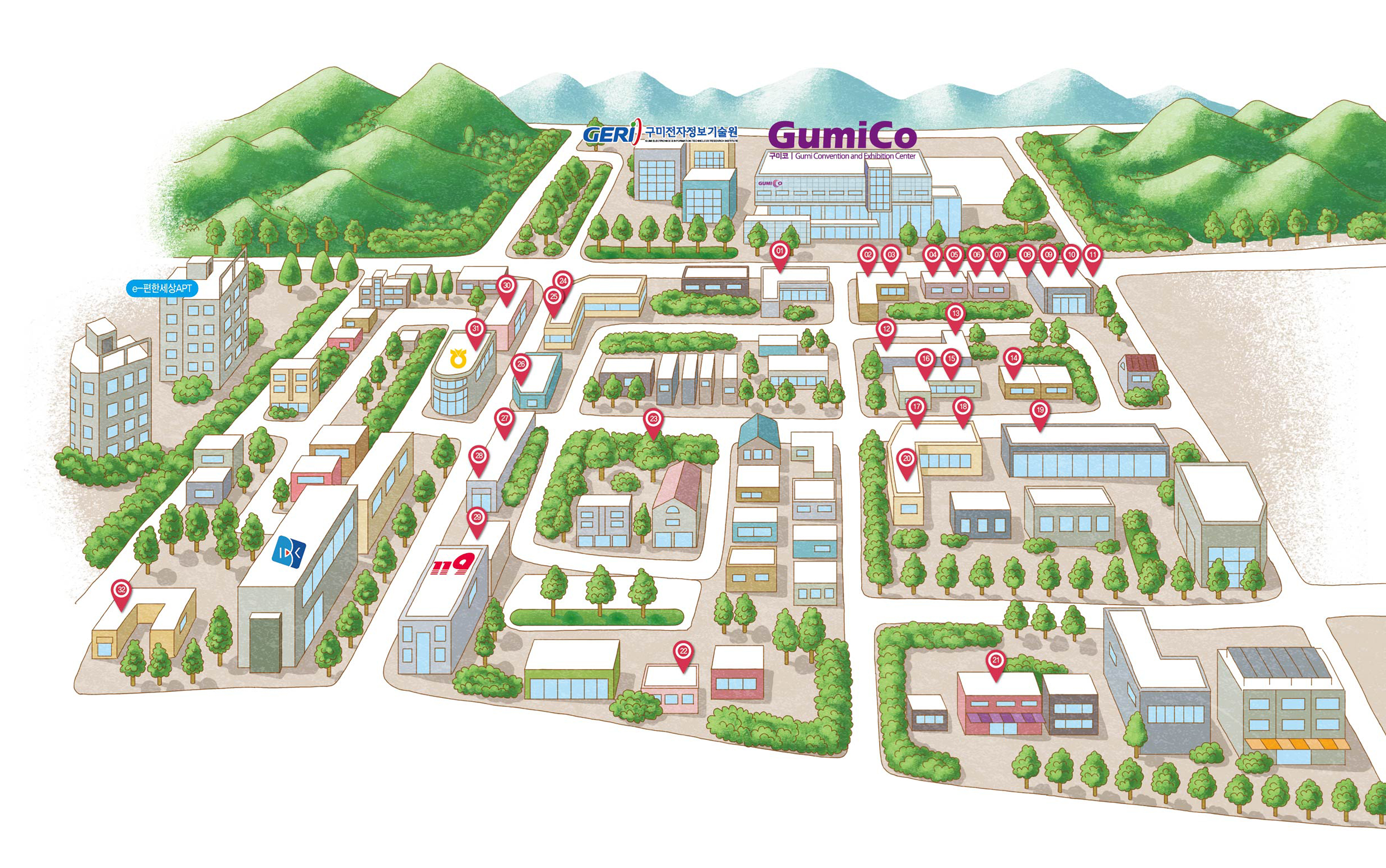 GUMICO / Visitor Information / Famous Restaurants